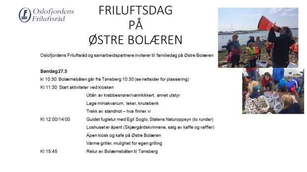 FRILUFTSDAG øb 270518